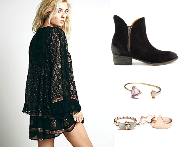 free-people-domad-dress-and-levitate-ring-and-stack-rings