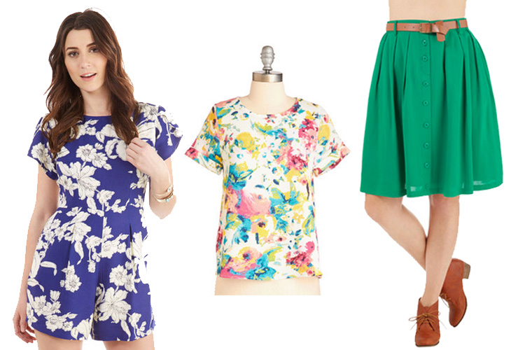 Colorful New Arrivals from ModCloth | MustacheMelrose.com