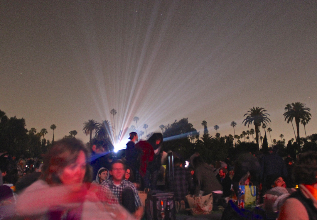 Movies at Hollywood Forever Cemetery