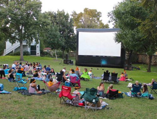 Outdoor Movies in Austin with the Alamo Drafthouse | MustacheMelrose.com