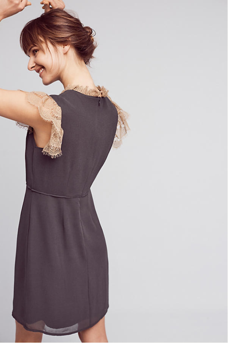 Cute dainty dress from Anthropologie